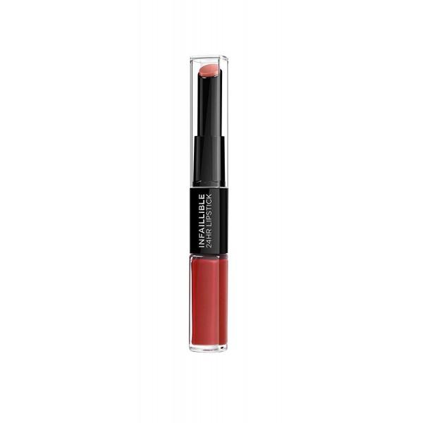 L'Oreal Paris Pintalabios Permanente Larga Duración Infalible 24H Lipstick