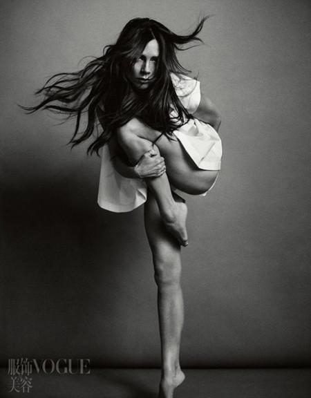 Victoria Beckham en Vogue China: ¿nueva víctima del Photoshop?