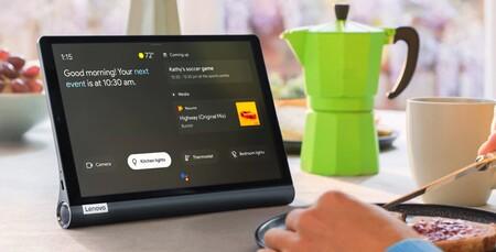 """La versátil tableta Lenovo Yoga Smart Tab 10,1"""" FHD con 4G y soporte multiposición está más barata que nunca en Amazon: 199 euros"""