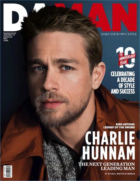 Charlie Hunnam 2017 Da Man Cover