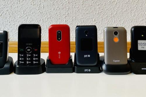 Mejor móvil para mayores: guía de compra y comparativa de teléfonos para la tercera edad