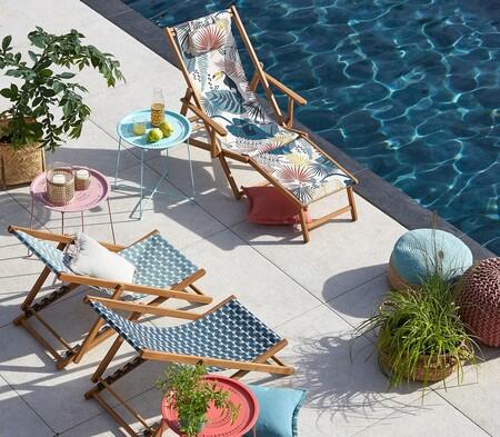 Las tumbonas y hamacas más molonas para disfrutar a tope de tu terraza o jardín