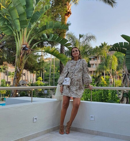 Ya no hay dudas: los vestido estampados animal print son  tendencia, palabra de Paula Echevarría