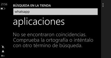 Whatsapp es retirado de Windows Phone Store de forma temporal [ACTUALIZADO]