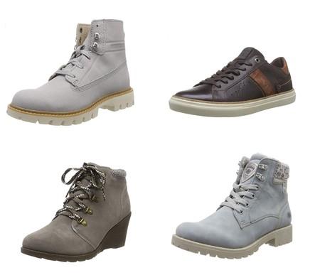 Chollos en tallas sueltas de botas y zapatos Levi's, Caterpillar o Skechers por menos de 30 euros en Amazon