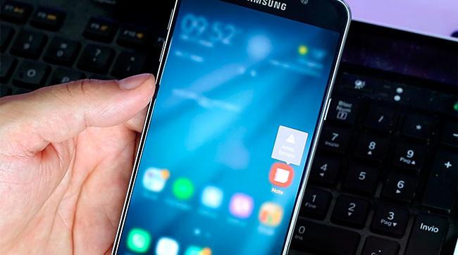 Samsung Galaxy™ Note 7 UI