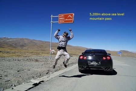¿Llevarías tu Nissan GT-R al Campo Base del Everest? Este tipo de Singapur lo ha hecho