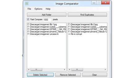 Image Comparator, una alternativa pequeña y rápida para encontrar imágenes duplicadas