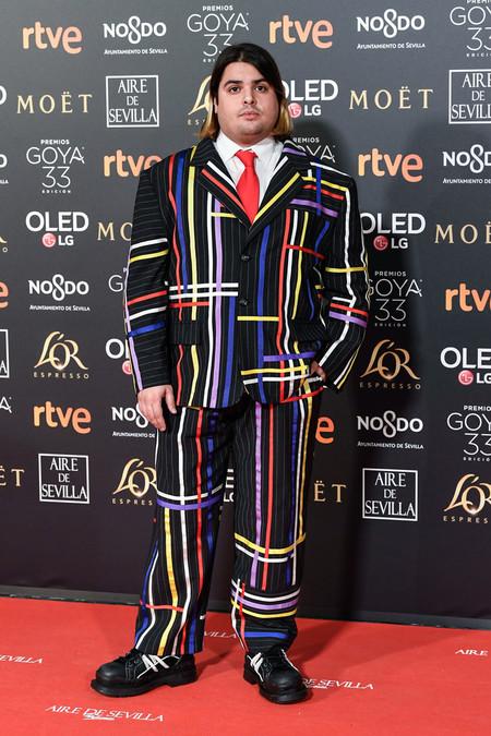Brays Efe Pone La Nota De Color La Alfombra Roja De Los Premios Goya 2019 2
