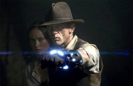 'Cowboys & Aliens', atractiva premisa que se agota pronto