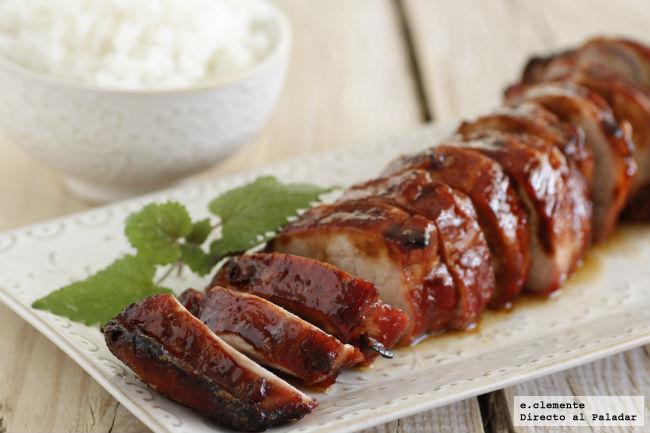Solomillo de cerdo laqueado a las cinco especias receta - Solomillo de ternera al horno con mostaza ...