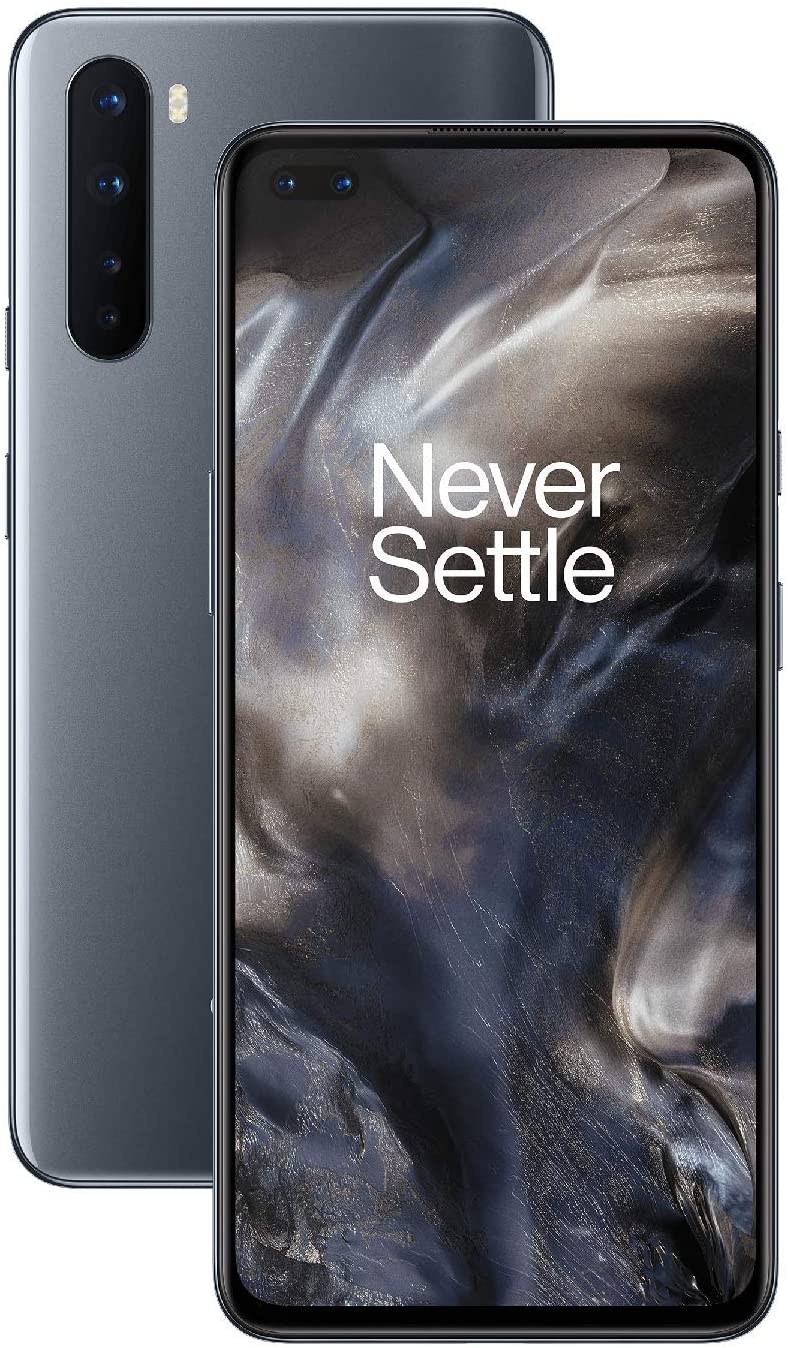 OnePlus NORD Phone (5G) 8GB RAM 128GB, Quad Camera, Dual SIM. Now with Alexa - 2 Year Warranty - Onix Gray