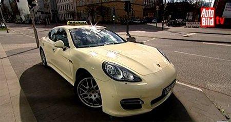 Porsche Panamera Turbo Taxi: Taxamera