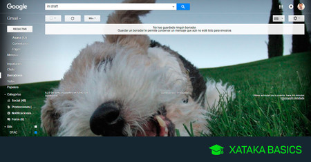 Cómo poner tu imagen favorita como fondo de Gmail