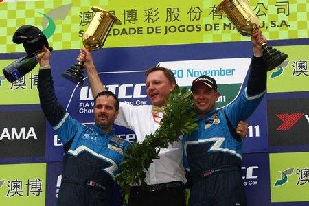 Yvan Muller, tricampeón del WTCC