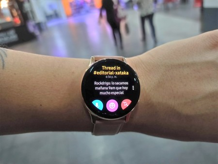 Samsung Galaxy Watch Active2 Tizenos Notificaciones