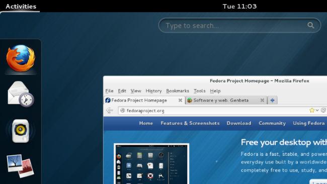 Fedora 18 Gnome-shell