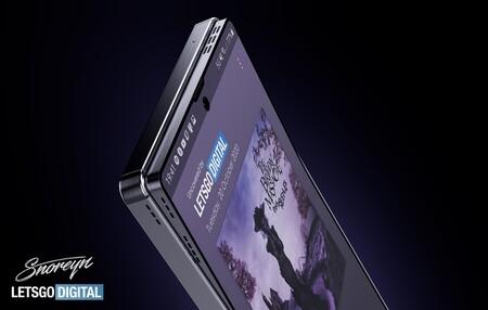 Pantalla que se dobla al frente para revelar altavoces: la próxima loca idea de Samsung para ofrecer mejor sonido en smartphones
