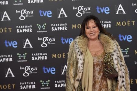 """Massiel pone el toque """"estrafalario"""" a los premios Goya 2015"""