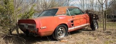 La amnésica historia de 'Little Red', un prototipo del Ford Shelby Mustang 1967 extraviado por 50 años