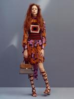 Crochet y vestidos florales