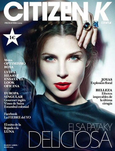 Elsa Pataky portada de Citizen K