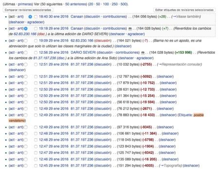 Wikipedia Historial