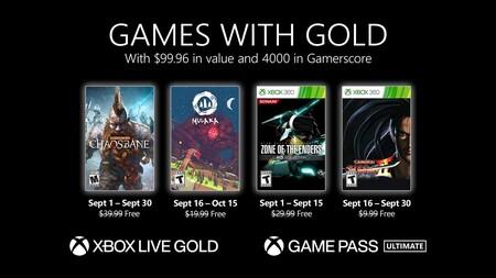 Warhammer: Chaosbane y Zone of the Enders HD Collection entre los juegos de Games with Gold de septiembre de 2021