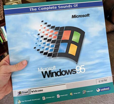 Alguien ha creado un vinilo con todos los sonidos de Windows 95: nostalgia nivel máximo