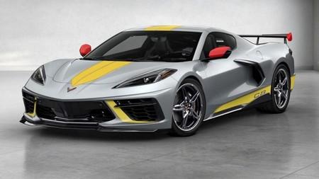 Chevrolet Corvette C8 Stingray R 2021 Teaser 2
