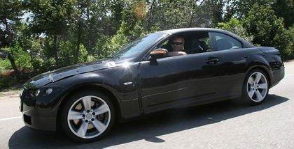 Foto espía del Serie 3 Cabrio