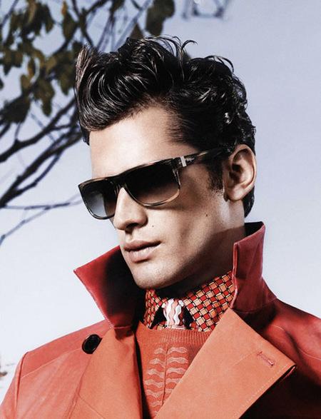 Los colores de la nueva campaña Salvatore Ferragamo Homme para la primavera 2013