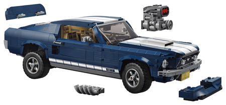 Ford Mustang Lego 67