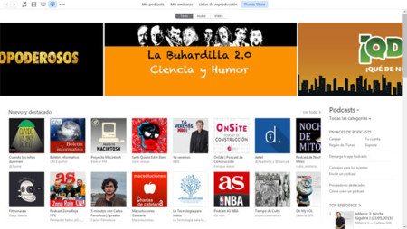 Podcasts Itunes