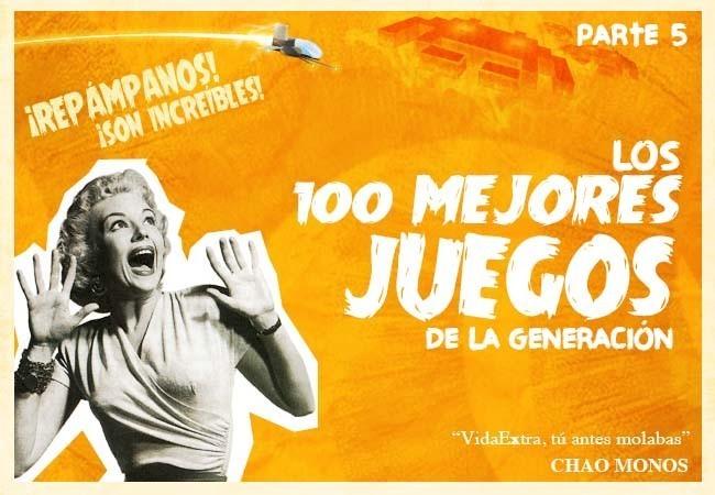 """Los 100 mejores juegos de esta generación, Vidaextra """"se moja"""""""