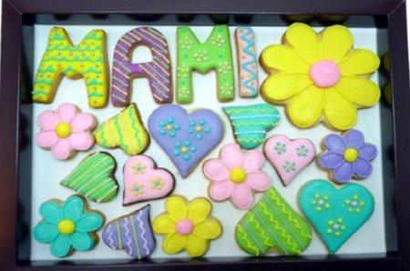 Dulce regalo para el Día de la Madre: galletas decookies