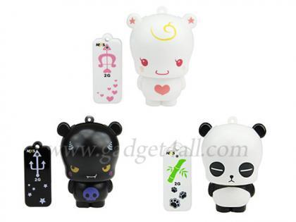 Memorias USB de oso panda