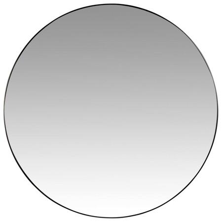 Espejo De Metal Negro 70 Cm 1000 5 2 216687 2