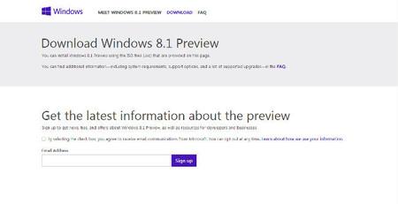 Microsoft anuncia la disponibilidad de las imágenes ISO de Windows 8.1