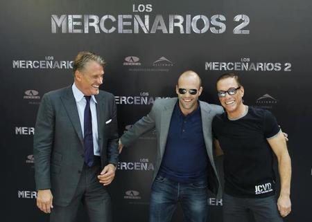 Los Mercenarios 2 Madrid