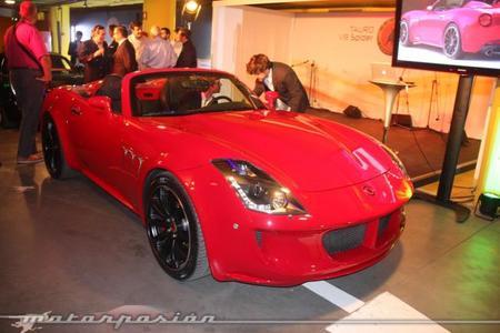 Tauro V8 Spider, sólo 30 unidades fabricadas en España