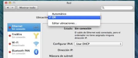 Ubicaciones OS X