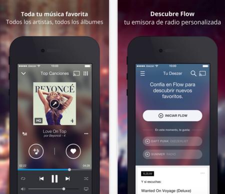 7e7e8be2a0b ... hace unos años a su responsable de España y es que Deezer es una de las  grandes alternativas a Spotify a la hora de escuchar música en el iPhone.