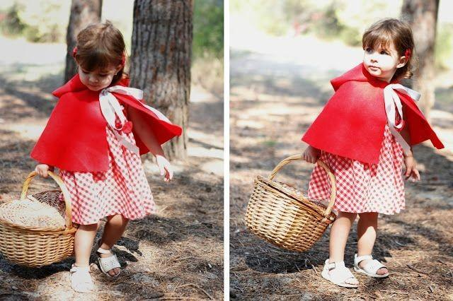Carnaval cinco disfraces diy de ltimo momento para los - Disfraz bebe caperucita roja ...