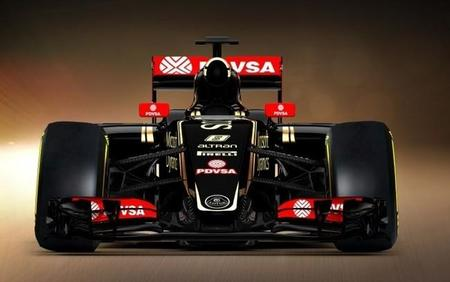 Lotus E23 Frontal