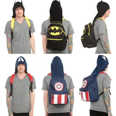 mochila superheroe