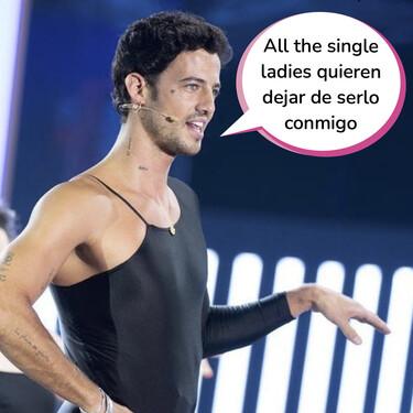 'El Desafío': Jorge Brazález se sube a los tacones y se calza una malla para convertirse en Beyoncé bailando 'Single Ladies'