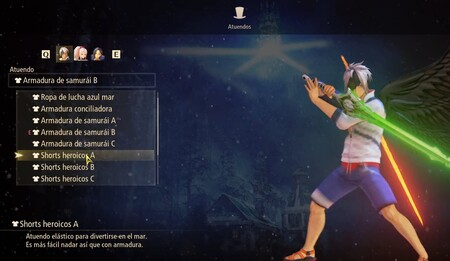 Atuendos para Alphen DLC Tales of Arise