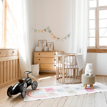 Cómo debe ser la habitación del bebé y qué tener en cuenta para decorarla