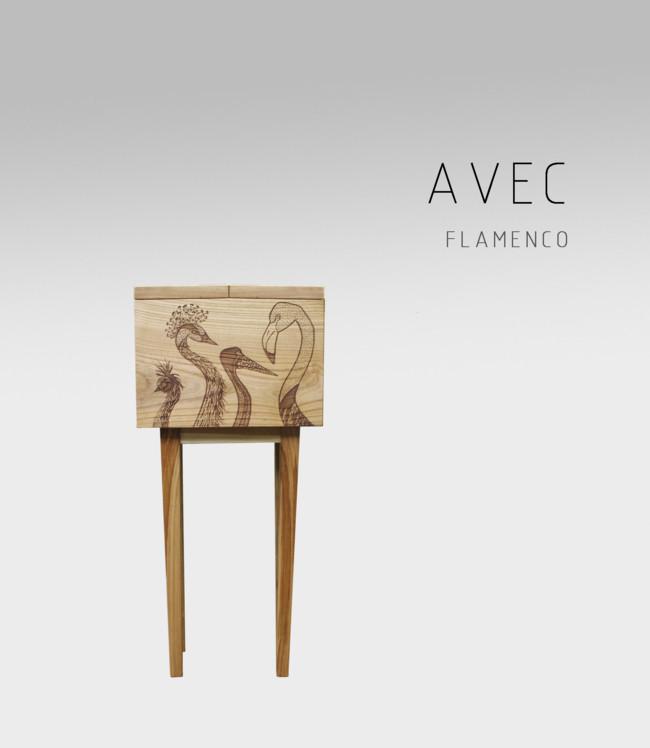 Adidea Design Cabinet Bar Avec Flamenco